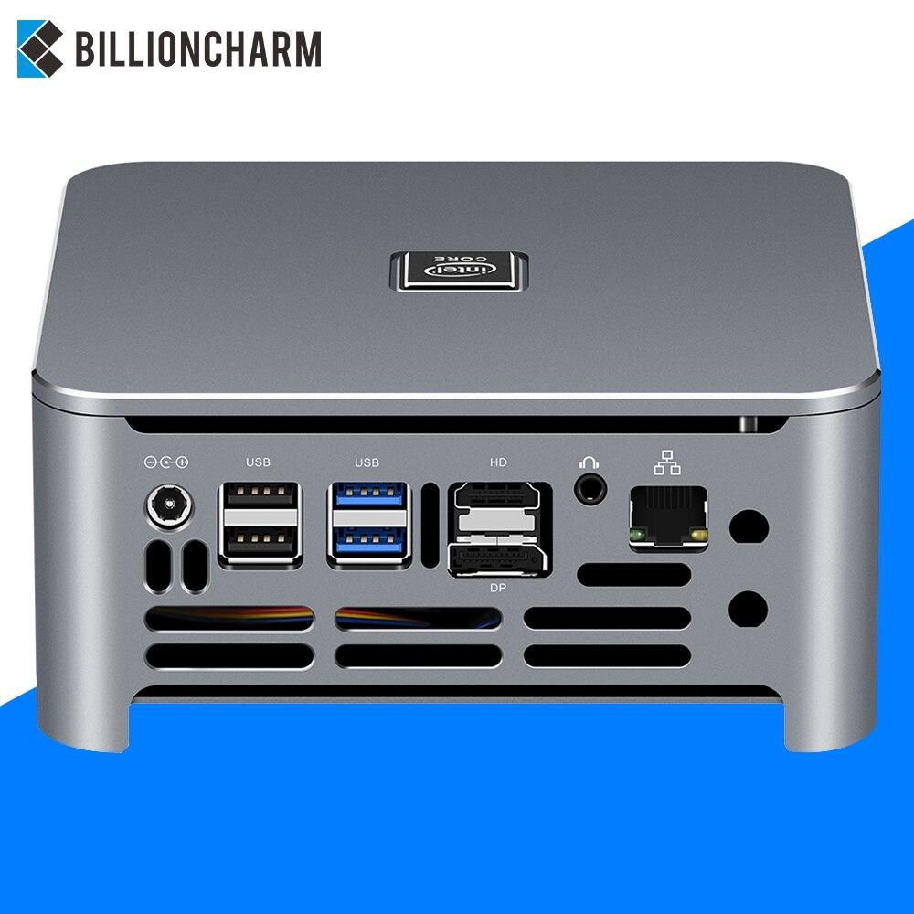 9th Intel Core Mini PC I9 9880H I7 9850H Windows 10 Linux DDR4 I7 9850H Gigabit Ethernet 300M WiFi DP HDMI 4K Computer HTPC NUC