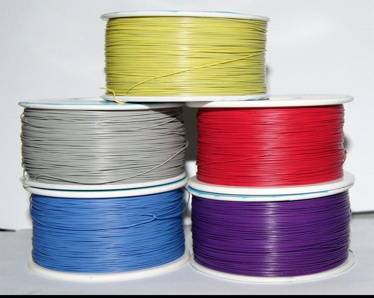AWG30 Электрический обмоточный провод 0,45 мм одна жила медный кабель ОК линия печатной платы Джемперы Fly Airline соединительная линия