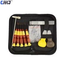 CHKJ Car Folding Remote Control Key Disassembly Screw Boring Tool Fixing Pin Kit Tools Locksmith Tool