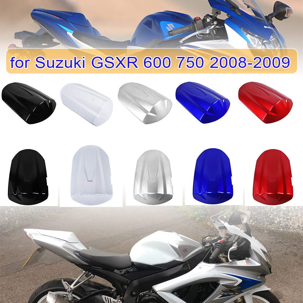GSXR600 GSXR750 ABS Rear Passenger Pillion Seat Cover Cap Protective for <font><b>Suzuki</b></font> <font><b>GSXR</b></font> <font><b>600</b></font> 750 GS-XR <font><b>600</b></font> GS-XR 750 <font><b>2008</b></font> 2009 image