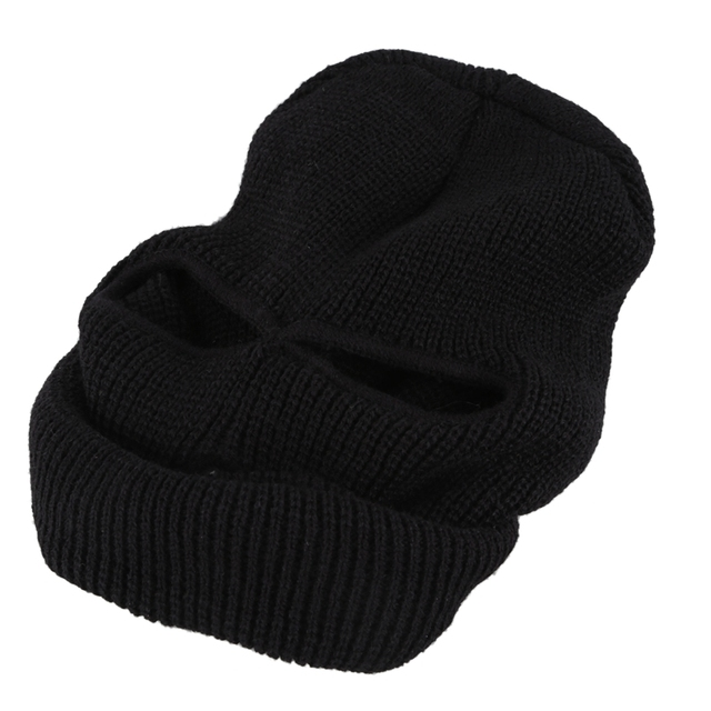For Balaclava Black Mask Thinsulate Winter Sas Style Army Ski Knitted Neck Warmer 5