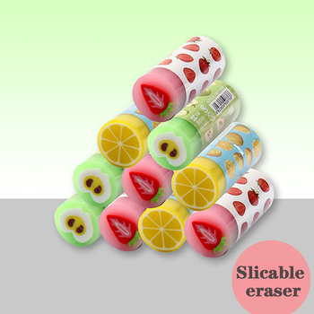 Artykuły szkolne kreatywne owoce gumka Cartoon śliczne gumki prezent dla dzieci szkolne artykuły papiernicze i biurowe tanie i dobre opinie CN (pochodzenie) 6923655508766 RUBBER 6 lat GUMKA DO OŁÓWKA Gumka biurowa fruit FANTASTIC