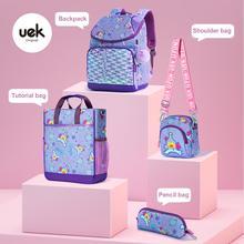 Uek Primary School Schoolbag Elementary School Bookbag For Girls Oxford Waterproof Large Capacity Shoulder Fashion Leisure Bags
