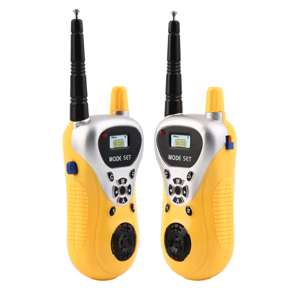 Intercom Walkie Talkie Kids Child Mini Toys Portable Two-Way Radio Electronic Handheld Kids Two-Way Radio Communicator Gift