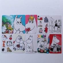 Moomin Muuminpeikko 2019 new fashion card sticker font b toy b font sticker kid muumi cartoon
