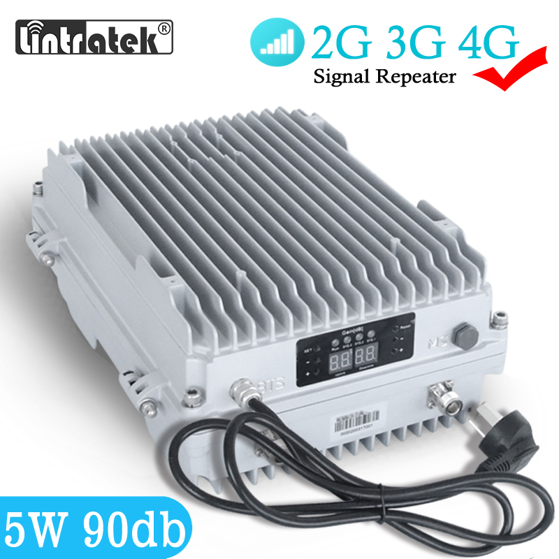 5W MGC Signal Repeater 4G Outdoor 90db 2G 3G Signal Booster 850 900 1800 2100mhz 37dbm Waterproof Amplifier For Big Building