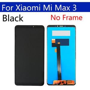 """Image 2 - 6.9 """"oryginalny wyświetlacz dla xiaomi max 3 LCD z ekranem dotykowym Digitizer z ramką zamiennik dla xiaomi max 3 ekran do montażu"""