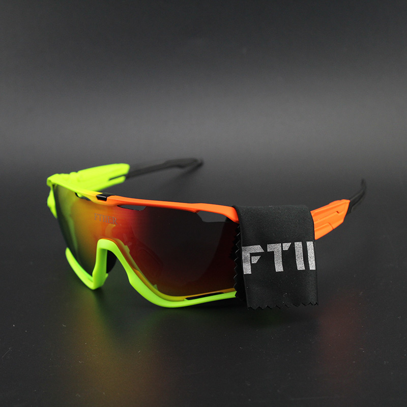 Polarized Cycling Sun Glasses Outdoor Sports Bicycle Glasses Men Women Bike Sunglasses 35g Goggles Eyewear 5 Lens