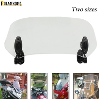 Universal Motorcycle Windshield Airflow Windscreen Wind Deflector For BMW R1200R S R1200RT SE R1200GS ADVENTURE LC 2013 2018