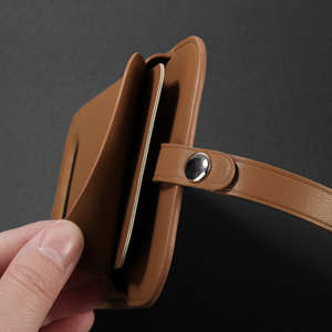 Image 4 - Luxury Original Support Wireless Charging Wallet Case For iPhone 12 Pro Max Magsafe Case For iPhone 12 Leather Card Bag Cover