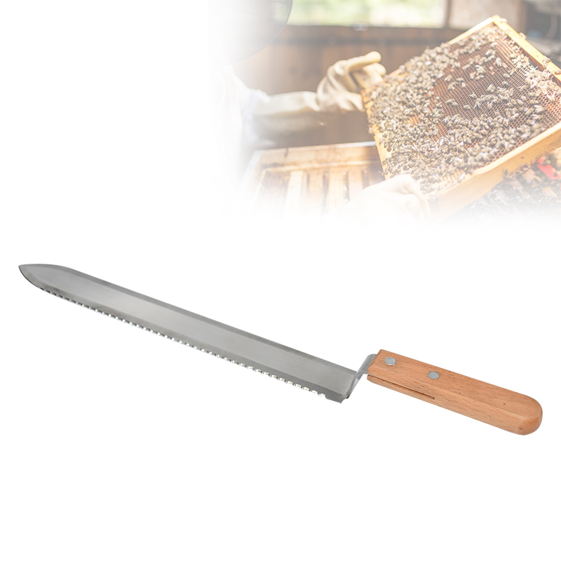 Beehive Honey Knife Scraper Stainless Steel Wooden Handle Beekeeping Tools Apiculture Bee Hive Scraper Take Honey Equipment