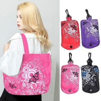 Torba wielokrotnego użytku torba na zakupy spożywcze składane torby na zakupy trwała i lekka składana torba na zakupy spożywcze Eco s torebki nowa modna torba tanie i dobre opinie JCXAGR Mniej niż 20l