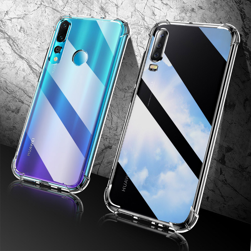 Transparent Case For Huawei P30 Lite Cases For Huawei P30 Pro P40 P 30 Lite 40 Light Silicone TPU Shockproof Funda Cover