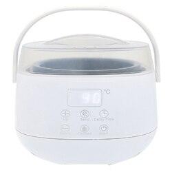 Profesjonalny podgrzewacz wosku Mini Spa dłoni stóp parafina wosk akumulator korpus maszyny do depilacji włosów narzędzie do usuwania E w Podgrzewacze do wosku od AGD na