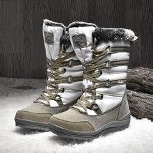 Casual Boots Velvet Sneakers Sport-Shoes Female Winter Fashion Women's Woman Snowfield