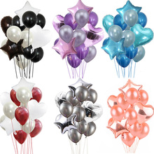 14Pcs 12Inch /18Inch Heart Star Shape Balloon Proposal Engagement Wedding Birthday Party Decoration Supplies 14pcs 12inch 18inch heart star shape balloon proposal engagement wedding birthday party decoration supplies