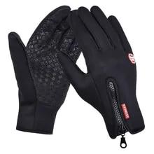 Warm-Gloves Touch-Screen Riding Non-Slip Waterproof Winter Womens Spring Velvet Fashion
