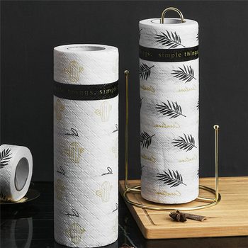 VOGVIGO Kitchen Paper Towel Reusable Wet Dry Strong Oil Absorption Cleaning Tissue
