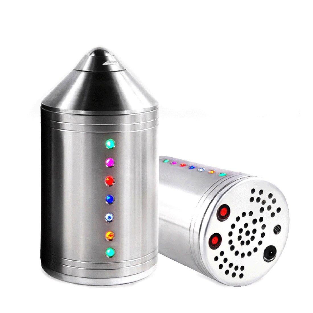 Surwish 132mm/114mm/108mm/89mm (D) en acier inoxydable Fitness musique Gyro jouet avec lumières enfants enfants cadeaux de noël 2019 argent - 2