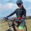 2021 vezzo roupas de manga longa das mulheres ciclismo triathlon conjuntos skinsuit macaquinho feminino gel macacão kits verão macacão ciclismo femininomacaquinho ciclismo feminino manga longa roupas com frete gratis 1