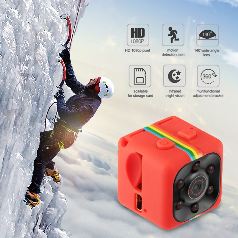 Newly Mini SQ11 Car DVR DV 1080P Camera Camcorder Sports Dash Cam Full HD 140 Degree Wide Angle IR Night Vision Video Recorder