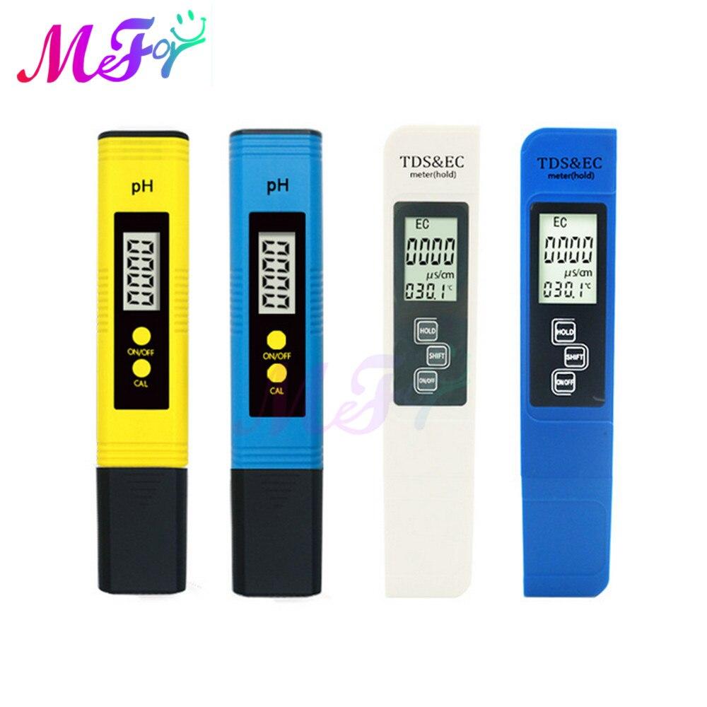 Digitale PH /TDS/ EC-Meter Tester Thermometer Stift Wasser Reinheit PPM Filter Hydrokultur für Aquarium Pool Wasser Qualität monitor