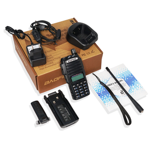 Image 5 - 10km 8W Двухполосный рация UV 82 Baofeng UV 82 FM трансивер портативное радио ветчина 128CH VHF/UHF UV 82 Двухстороннее радио 2800mAh