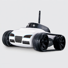 Hotty Toy 777-270 WiFi Mini RC Camera Tank Car ISpy with Video 0.3MP Camera Remote Control Robot Car By Iphone Android App 2017 new cloud companian wifi rc spy monitoring car robot tank ip camera mobile app remote control