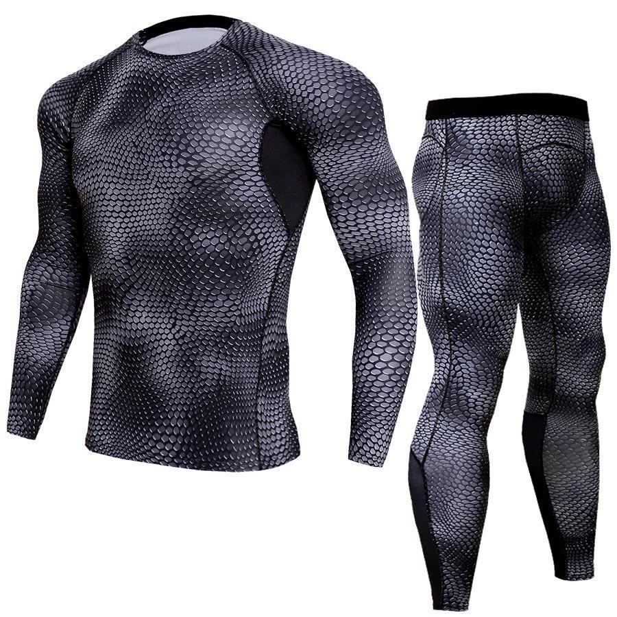 Mens Bamboo Fiber Thermal Underwear Ropa Interior Hombre Long Johns Set Men Warm Leggings Men's Elasticity Comfortable Underwear