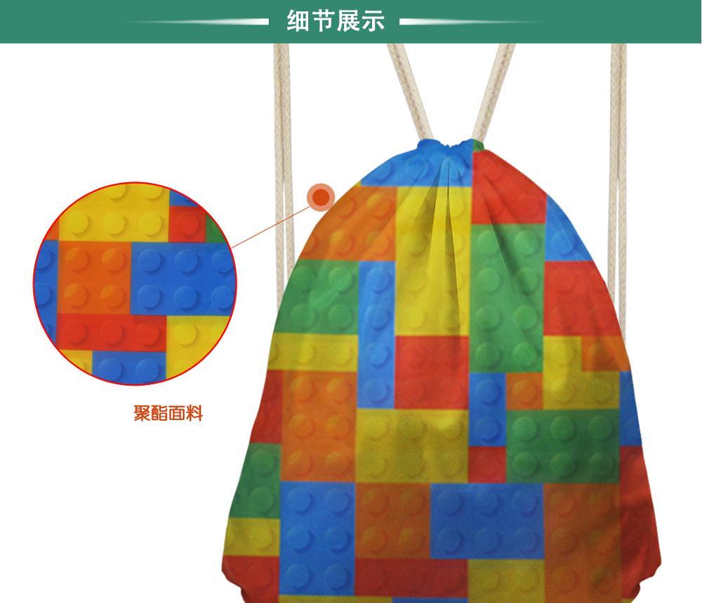 Thikin Nicki Minaj Casual Sack Drawstring Bag for Girl Travel Backpack Toddler Softback Lady Beach Mochila DrawString Bag in Drawstring Bags from Luggage Bags