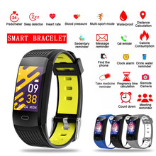 LIGE 2021 New Smart Bracelet Heart Rate Blood Pressure Health Waterproof Smart Watch Bluetooth Watch Wristband Fitness Tracker