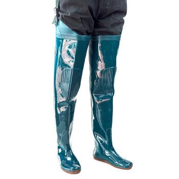 Do polowania na świeżym powietrzu połowów pcv wodoodporne spodnie buty wędkarskie wysokie rurki antypoślizgowe buty przeciwdeszczowe wodery wędkarskie spodnie mężczyźni kobiety spodnie wędkarskie tanie i dobre opinie Inni Pasuje mniejszy niż zwykle proszę sprawdzić ten sklep jest dobór informacji Wading Pants Upstream Shoes 36-45 size