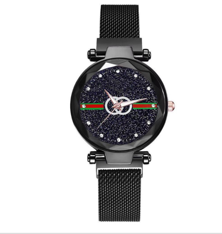 2020 Women's Watch Magnetic Buckle No Waterproof Net Red Celebrity Inspired Watches Women Starry Magnet Belt Ladies' Wristwatch