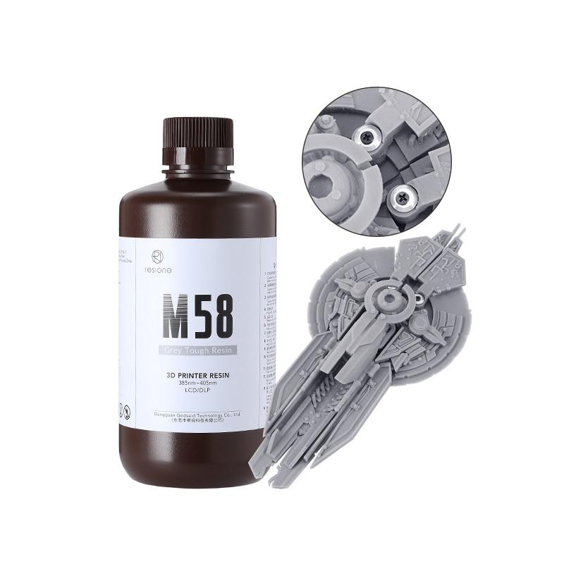 RESIONE жесткая АБС похожее на серый Модель УФ 405nm смолы 3D-принтеры смолы для anycubic Фотон sparkmaker nova3d Смола DLP 3D-принтеры