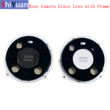 Rear Back Camera Lens Glass with Metal Frame Holder For Huawei Mate 40 40Pro 40Pro+ 40E Replacement Repair Spare Parts