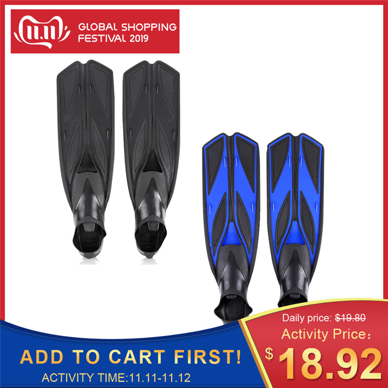 LIXADA Scuba Diving Flippers For Swimming Adult Fins Swimming Shoes Diving Fins Water Shoes For Swimming Underwater Sports Adult