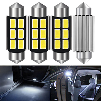 31mm 36mm 39mm 41mm Car Interior Light LED Bulb C10W C5W Festoon For Audi Volkswagen Mercedes Benz W210 BMW E36 E46 E90 E60 image
