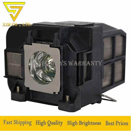 high quality ELPLP74 V13H010L74 Replacement lamp with housing For EPSON PowerLite 1930 EB-1930 EB-1935 EMP-54 EMP-74 Projectors
