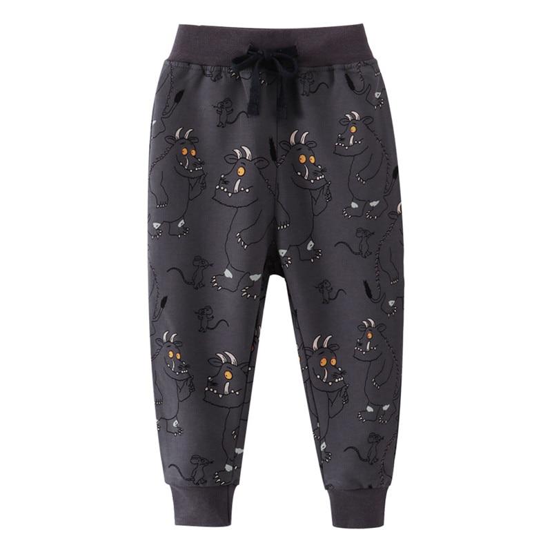Children Monsters Sweatpants for Boys Girls Long Pants Animals Print New Arrival Kids Trousers Pants