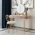 Мраморный туалетный столик для спальни  современный минималистичный столик для маленькой квартиры в скандинавском стиле  туалетный столик...