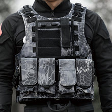 Тактический жилет военная Униформа страйкбол штурмовой МОЛЛ