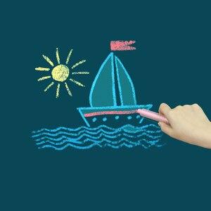 Image 5 - Manyetik DIY yazı tahtası çizim kurulu ile tebeşir kalem çocuklar boyama Doodle eğitim oyuncaklar çocuklar için doğum günü hediyesi