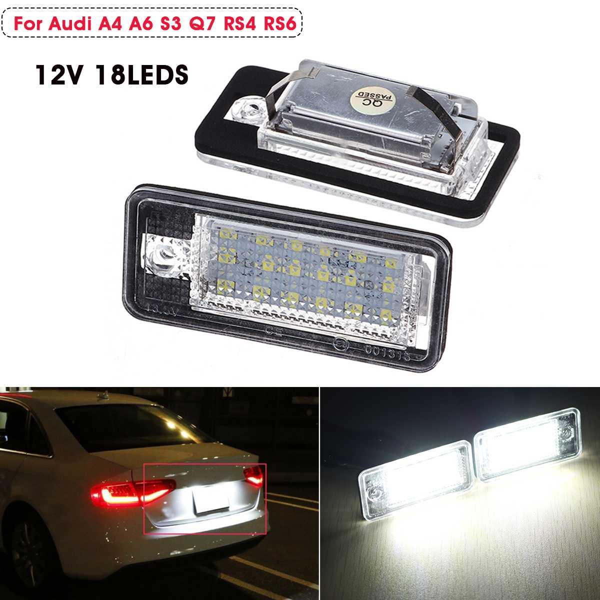 Fits Audi A3 8P 2.0 TDI White 54-SMD LED 12v Side Light Parking Bulbs