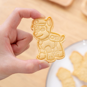 Paw patrol dog children DIY biscuit toy mold model anime character chase action figure child birthday gift