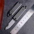 Титановый карманный нож EDC инструмент нож острый открытый складной нож D2 стальной ключ кулон