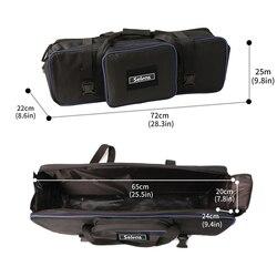 Studio Lighting Set Equipment Padd Zipper Carry Case Bag 72*25*22cm for Light Stand Umbrellas tripod