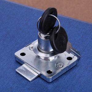 Hardware Steel Drawer Lock Desk Drawer Lock Wardrobe Locks Cabinet Locks Furniture Cabinet Locker with 2 Keys