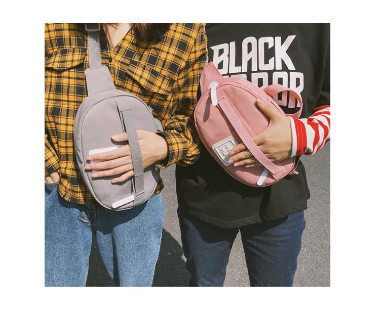 Menghuuo Waist Bag Women Fanny Packs Belt Bag Luxury Brand Nylon Chest Handbag 5 Colors 2018 New Fashion Hight Quality Waist Bag_39-1_11