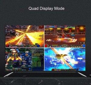 Image 5 - محول متعدد المشاهد بشاشة عرض عالية الوضوح 4K HDMI 16x1 متعدد المشاهد محول 16 في 1 خارج سلس التبديل متعدد المشاهد صورة شاشة مقسم HDTV