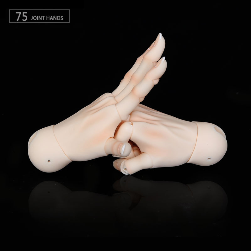 BJD Jointed Hands Suitable For 1/3 Or 1/4 Bjd Dolls Boy And Girl Body IOS IP ID72 R72 Sd17 DS SD Feeple